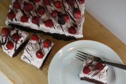 Chocolate Raspberry Cream Cheese Dessert