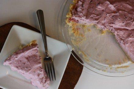 Easy Creamy Blackberry Pie