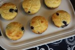 Blueberry Corn Muffins and a Gluten Free Version