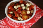Tomato Salad with Fresh Mozzarella and Balsamic Vinegar