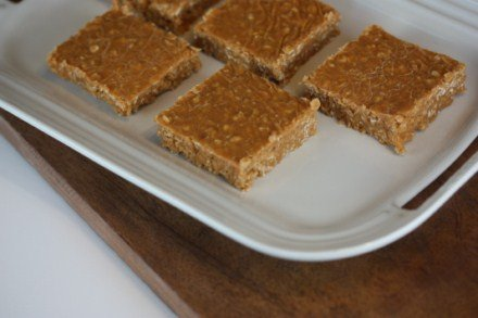 No Bake Butterscotch Cookie Bars