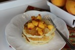 Peaches and Cream Pancakes