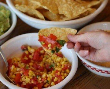 corn and tomato relish