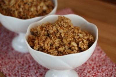 Crispy Homemade Granola