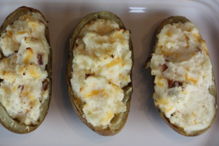 Grilled Twice Baked Potatoes