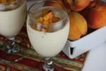 Homemade Peach Milkshake