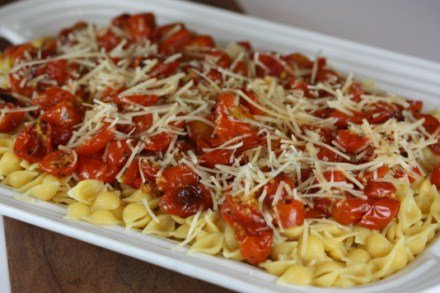 Roasted Tomatoes and Pasta