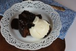 Slow Cooker Hot Fudge Sundae Cake {Cooking Through My Collection}