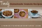 Twenty Homemade Granola Recipes