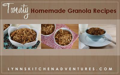 20 Homemade Granola Recipes