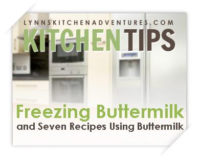 Kitchen Tips Buttermilk
