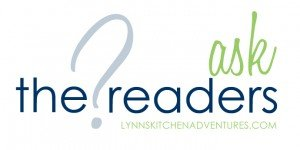 Ask The Readers {Cookbook Collection}
