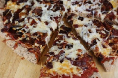 Bacon-Pizza