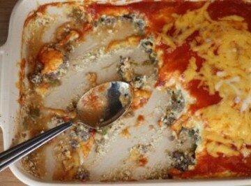 Chili Relleno Casserole- Quick and Easy Dinner