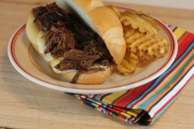 Crock Pot Beef Sandwiches