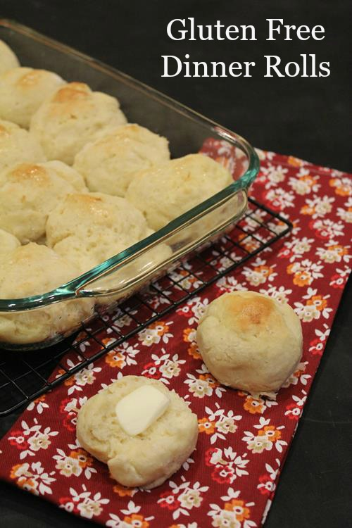 Light and Fluffy Gluten Free Dinner Roll