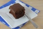 Gluten Free Version of Cracker Barrel's Double Chocolate Fudge Cake
