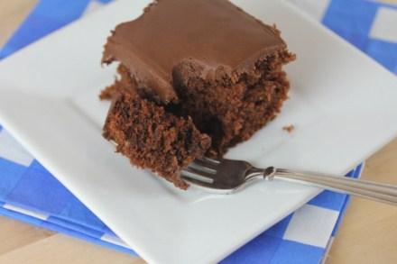 gluten free Cracker Barrel Double Fudge Chocolate Cake