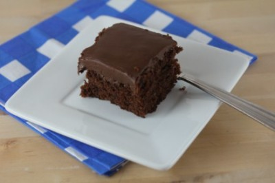 Gluten Free Version of Cracker Barrel Double Fudge Chocolate Cake