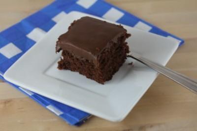 Gluten Free Version of Cracker Barrel Double Fudge Chocolate Cake