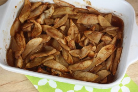 oven fried apples