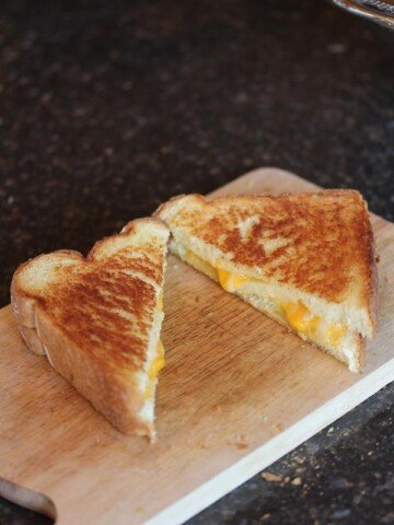 Oven Grilled Cheese