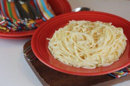 Restaurant Style Fettuccine Alfredo