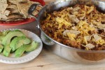 Skillet Tacos with Way Better Tortilla Chips