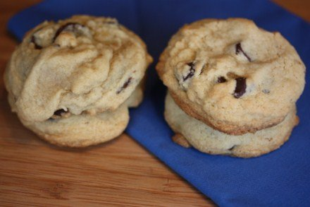 soft chewy gluten free chocolate chip cookies