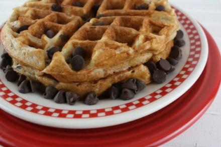 gluten free banana waffles