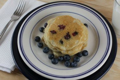 gf blueberry pancakes
