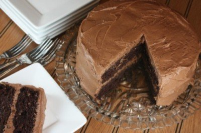 gluten free chocolate layer cake