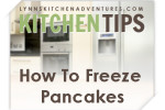 how to freeze pancakes