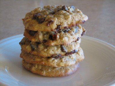 Banana Chocolate Chip Oatmeal Cookie