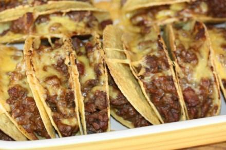 Oven Tacos- LynnsKitchenAdventures.com