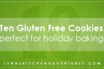 Ten Gluten Free Cookie Recipes {Perfect for Holiday Baking}