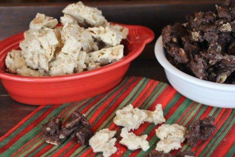 white chocolate cinnamon chex mix from lynnskitchenadventurescom - Christmas Chex Mix White Chocolate
