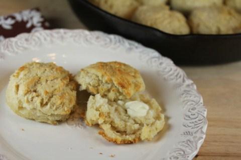 Gluten Free Biscuit from LynnsKitchenAdventures.com
