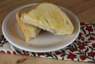 Grilled Honey Mustard Turkey Sandwich