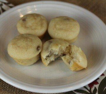 Maple Sausage Pancake Muffins