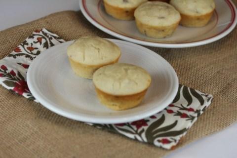 Maple Sausage Pancake Muffins from LynnsKitchenAdventures.com