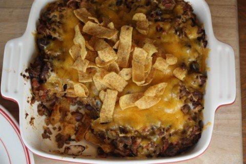 Oven Frito Pie from LynnsKitchenAdventures.com