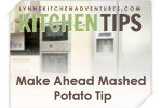 Saving Time Making Mashed Potatoes