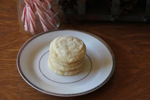 Gluten Free Angel Cookies from LynnsKitchenAdventures.com