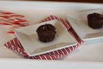 Gluten Free Chocolate Candy Cane Muffins