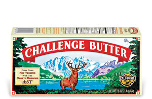 Challenge Butter and a Fun Giveaway