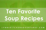 Ten Favorite Soup Recipes