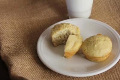 Gluten Free Banana Pancake Muffins
