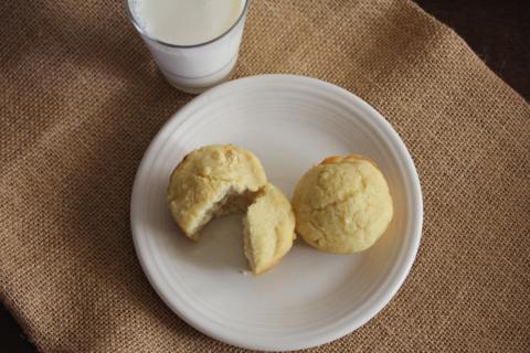 Gluten Free Banana Pancake Muffins from LynnsKitchenAdventures.com