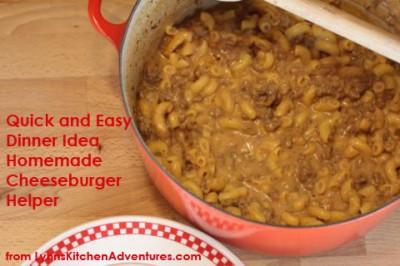 Homemade Cheeseburger Helper - Quick and Easy Dinner Idea